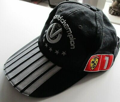 Formula One Ferrari  F1 World Champion Baseball Cap Official Merchandise