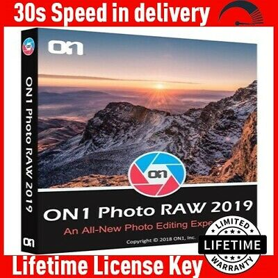 ON1 Photo RAW 2019 Windows Mac ✔️Official Lifetime License KEY🔑LATEST VERSION ⚡