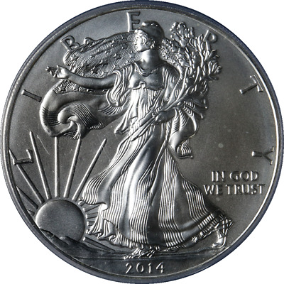 2014-(W) Silver American Eagle $1 PCGS MS70 Struck at West Point Label -STOCK