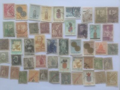 50 Different Portuguese India Stamp Collection