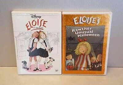 ELOISE At The Plaza Rawther Unusual Halloween 2 DVD Lot Julie Andrews Disney