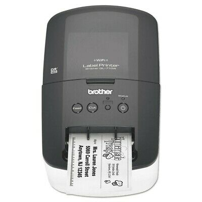 BROTHER QL-710W WIRELESS LABEL PRINTER w/ 3 FREE ROLES OF LABELS