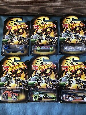 Hot Wheels Halloween 2019 Edition Set Of 6 Cars Holiday Series Ready To Ship Now