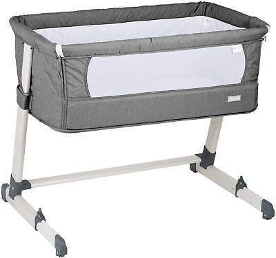 Babygo Co-Sleeper Bed Together - Grey