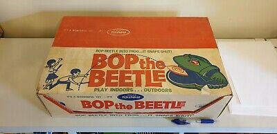 1962 Ideal Toys Bop the Beetle Game