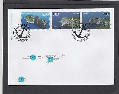Croatia 2014 Lighthouses First Day Cover FDC