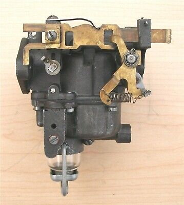JOHNSON EVINRUDE 15 HP CARB, CARBURETOR + high and low speed needle valves