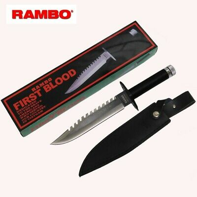 Rambo First Blood Part 1 Stallone Hunting Knife Signature Edition (Rambo-1)