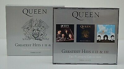 Queen:   The Platinum Collection -  Greatest Hits  I, Ii & Iii Cd (2011)