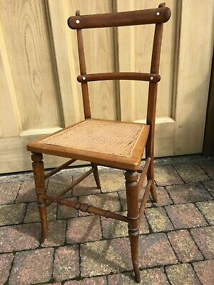 Antique Aesthetic Movement Occasional Bedroom Chair - Victorian