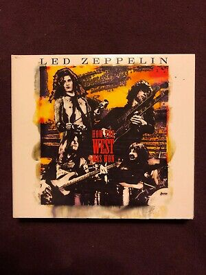 LED ZEPPELIN EMPRESS Valley How the East Was Won 2cd box