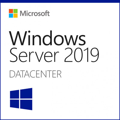 Microsoft Windows Server 2019 DATACENTER Vollversion Key Lizenz Multilanguage