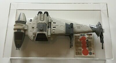 STAR WARS Vintage ROTJ Loose B-Wing Fighter S/Unapplied Kenner 1983 AFA UKG 80%