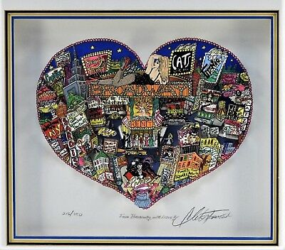 CHARLES FAZZINO JIGSAW BACKSTAGE BROADWAY 1000 PCS WITH FULL COLOR INSERT #1537