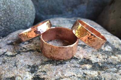 4 mm Round Brass Ethiopian Wollo Rings Minimal jewelry simple Ring