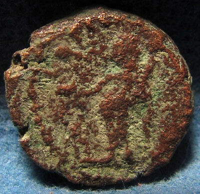 Unidentified Ancient Roman Provincial bronze City coin.