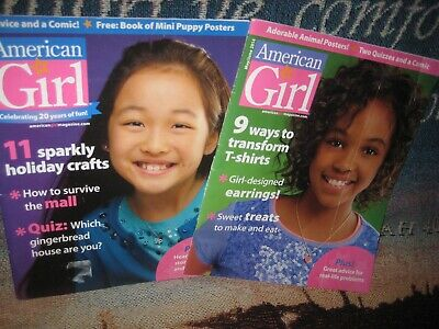 American Girl Magazine holiday November December  2013  with extra issue