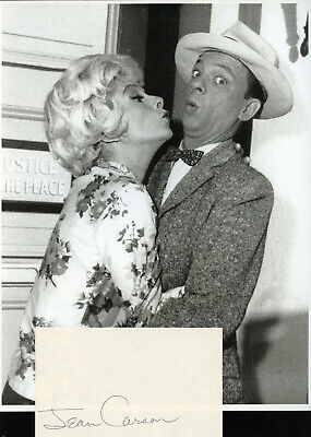 Jean Carson Andy Griffith Show Actress Signature & Photo From Show