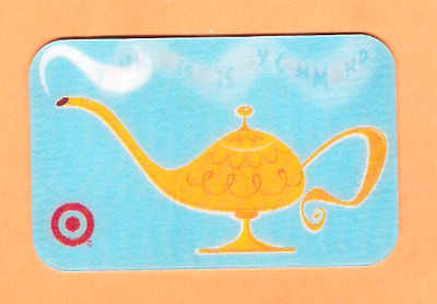 Collectible 2005 Target Gift Card - Aladdin's Magic Lamp - No Cash Value