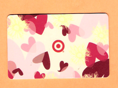 Collectible 2003 Target Gift Card - Valentine Hearts - No Cash Value