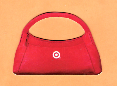 Collectible 2007 Die Cut Target Gift Card - Red Purse - No Cash Value