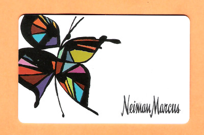 Collectible Older Neiman Marcus Gift Card - Butterfly - No Cash Value