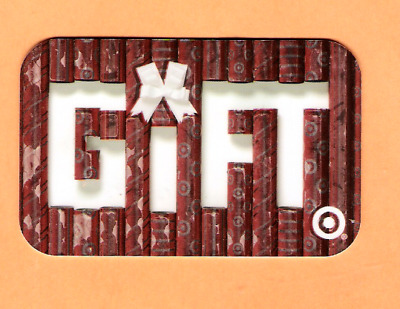 Collectible 2008 Target Gift Card - Wrapping Paper - No Cash Value