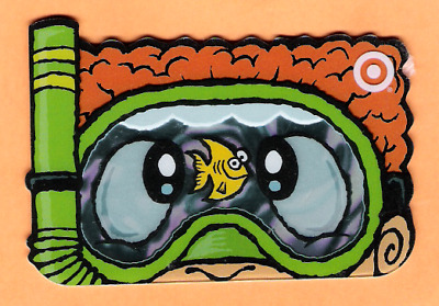 Collectible 2005 Die Cut Target Gift Card - Scuba Mask Fish - No Cash Value