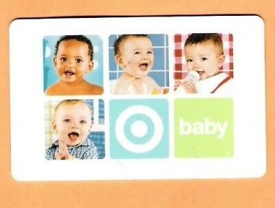 Collectible 2003 Target Gift Card - Four Babies  - No Cash Value