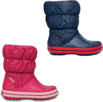 Crocs 14613 WINTER PUFF BOOT Kids Warm Lined Boots