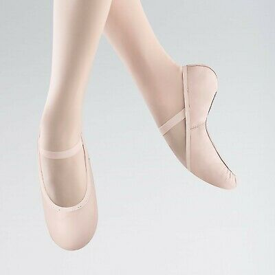 Bloch 227 Belle Theatrical Pink Full Sole Leather Ballet Shoe