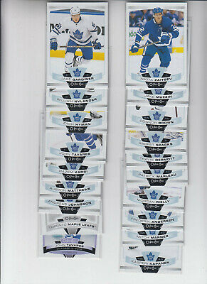 19/20 OPC Toronto Maple Leafs Team Set with Inserts - Matthews Marner Rielly +