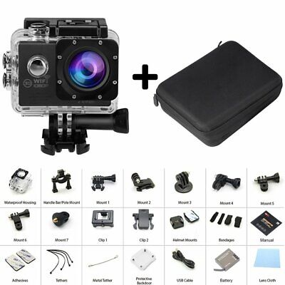 Action Cam Ultra HD 4K Waterproof Sports Camera WiFi Camcorder as Go L