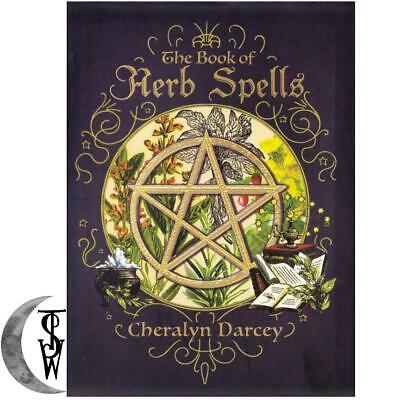 Book of Herb Spells by Cheralyn Darcey Wicca Witch Supply