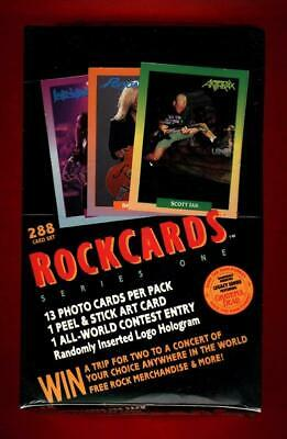 Rockcards Series One Factory Sealed Box