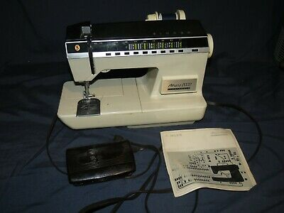 Singer Athena 2000 Sewing Machine Tested Working With Manual
