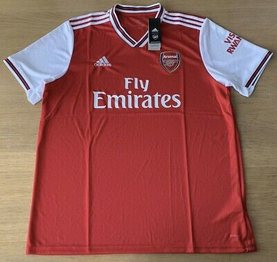 Arsenal Home Shirt 2019-20 Men's XL 100% Genuine BNWT.