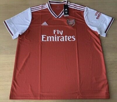 Arsenal Home Shirt 2019-20 Men's XXL 100% Genuine BNWT.