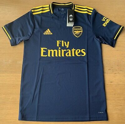 Arsenal Adidas 3rd Shirt 2019-20 Mens Small BNWT 100% Genuine.
