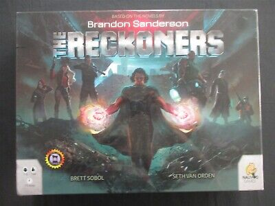 OEJ ~ The Reckoners ~ Retail Edition ~ Board Game