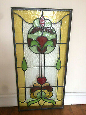 Beautiful Victorian Stained glasss window