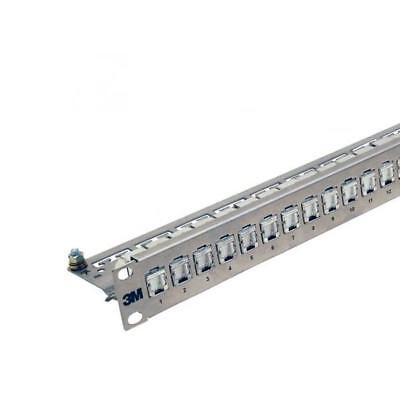 Corning Patchpanel 24 Ports 1HE 43018-801 25 Kupfer UU003100367 Patchpanel
