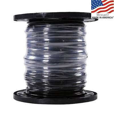 Southwire SIMpull 6-Awg 500-ft Stranded Black Copper THHN Electrical Wire roll