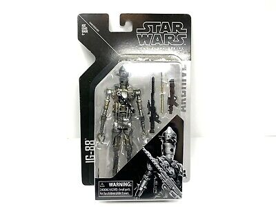 """Star Wars The Black Series IG-88 Archive Collection 6"""" Action Figure - New Mint"""