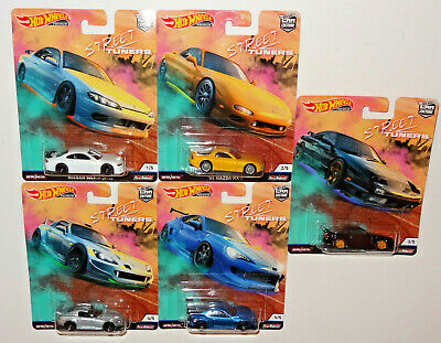 Hot Wheels 2019 Car Culture Street Tuners - Factory Case Fpy86-956L 10 Pc