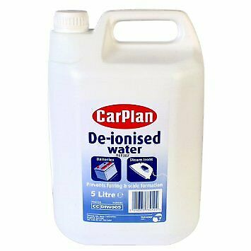 Car Plan 5 Litre De-ionised Deionised High Quality 99.99% Ultra Pure Water
