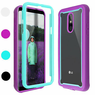 For LG Stylo 5 Case Heavy Duty Shockproof Rugged TPU Bumper Clear Back Cover