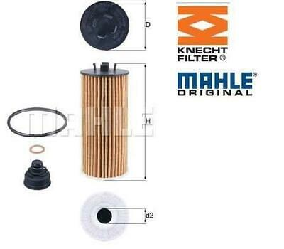 Genuine MAHLE Replacement Engine Oil Filter Insert OX 13 OX13
