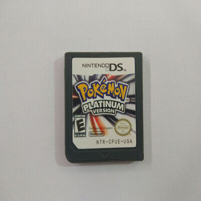 Pokemon: Platinum Version For DS Nintendo DS Game, Cartridge Only! GENUINE S1W9I