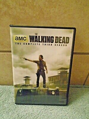 The Walking Dead: Season 3 (DVD, 2013, 5-Disc Set)